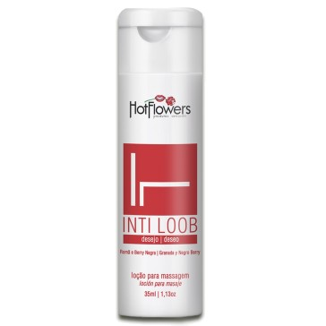 Int Loob Romã e Berry Negra Lubrificante 35ml Hot Flowers