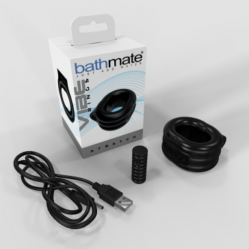 Anel Peniano com Vibro Recarregável - Bathmate The Stretch