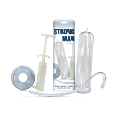 Bomba Peniana Manual - Strong Man Classic
