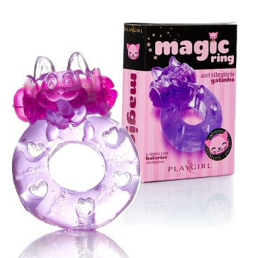 Anel vibratório Magic Ring - PlayGirl