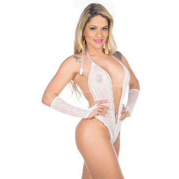 Body Fashion  - Pimenta Sexy - Branco