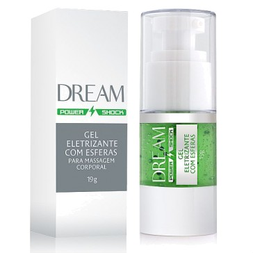Dream Power Shock - Gel Eletrizante com Esferas - 19g