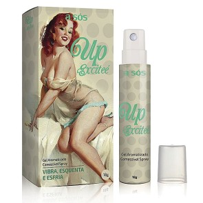 Gel Excitante Comestível Spray Up Excitee