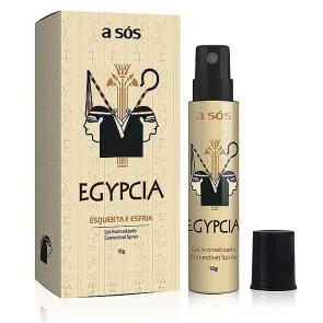 Gel Excitante Comestível Spray Egypcia - 18g