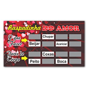 Raspadinha do Amor Miss Collection