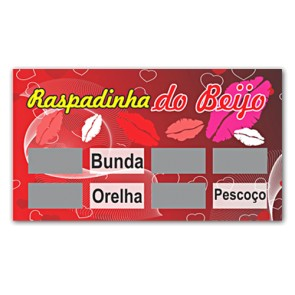Raspadinha do Beijo Miss Collection