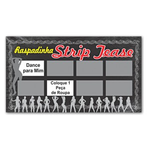Raspadinha do Strip Tease Miss Collection